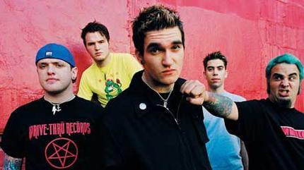 New Found Glory concert in Carrboro