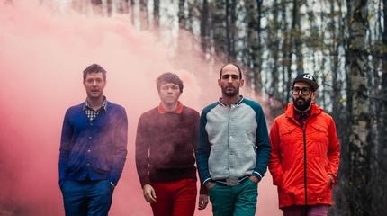 Concierto de OK Go en Cataratas del Niágara