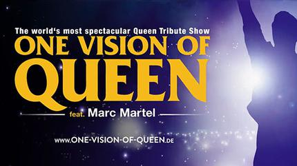 Concierto de One Vision of Queen feat. Marc Martel en Stuttgart