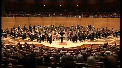 Concierto de Orquesta de la Academia Nacional de Santa Cecilia en Roma