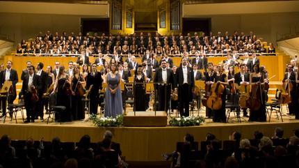 Concierto de Orquesta Metropolitana de Madrid + Coro Talía + Silvia Sanz Torre en Madrid
