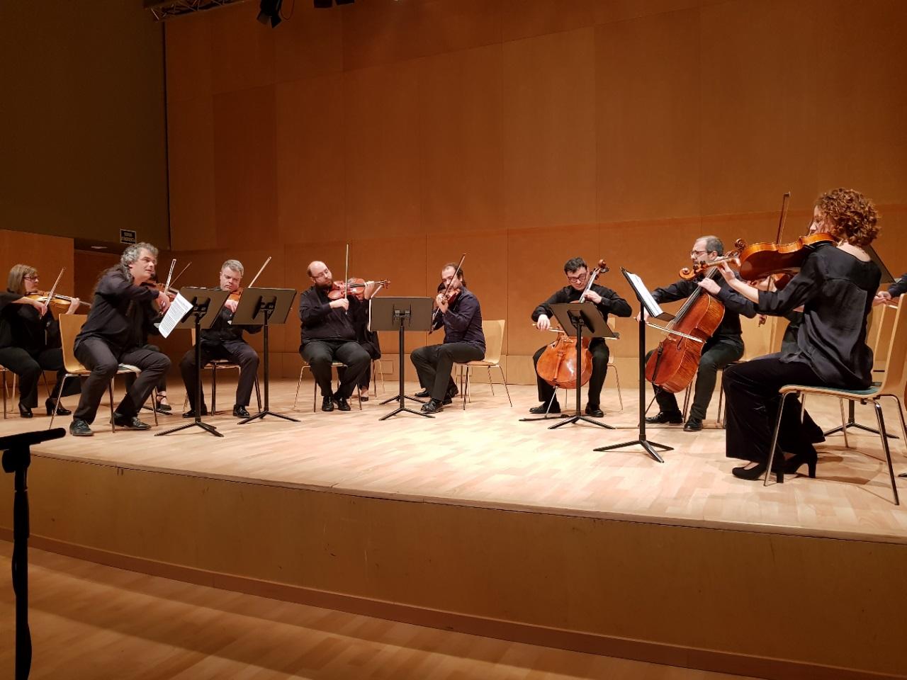 Orquestra de Cambra Terrassa 48 concert in Barcelona
