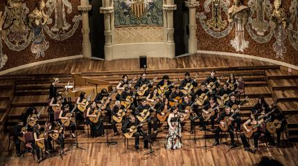 Concierto de Orquestra de Guitarres de Barcelona en Barcelona
