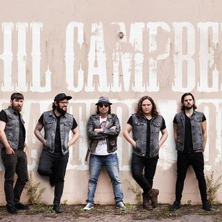 Concierto de Phill Campbell & The Bastards Sons en Devon