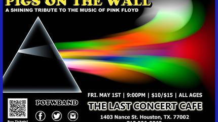 Pigs on the Wall (A Tribute to Pink Floyd) concert à Verviers