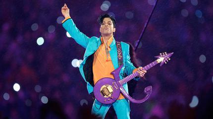 Prince concert in Paris