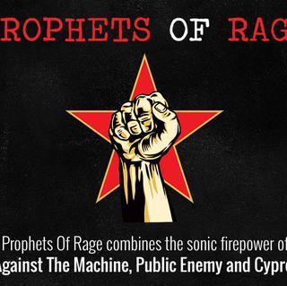 Concierto de Prophets of Rage en Manchester