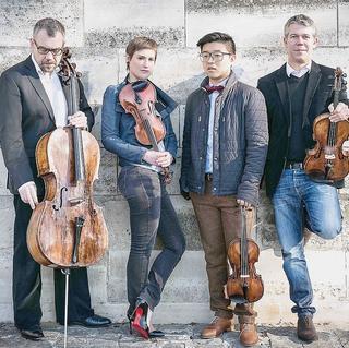 Concierto de Quatuor Diotima en Colonia