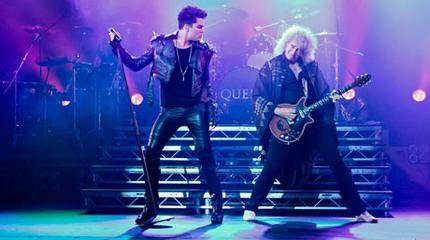 Queen with Adam Lambert concert in London