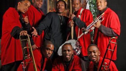 Concierto de Rebirth Brass Band en Mill Valley