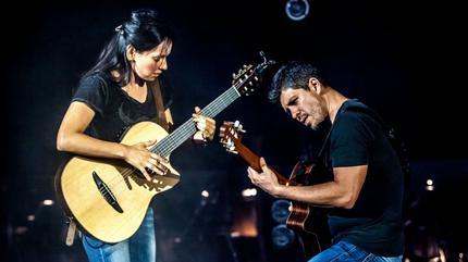 Concierto de Rodrigo y Gabriela en Sugar Land