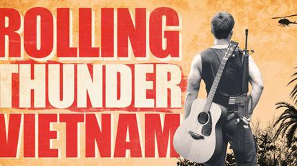 Rolling Thunder Vietnam concert in Sydney