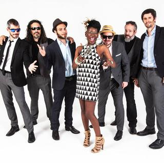Shirley Davis & The Silverbacks concert in Worpswede