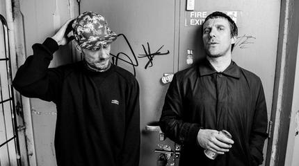 Sleaford Mods concert in Auckland