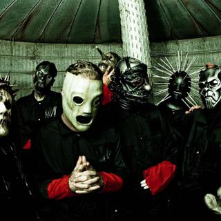 Slipknot concert in Mansfield