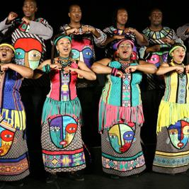Concierto de Soweto Gospel Choir en Edinburgh