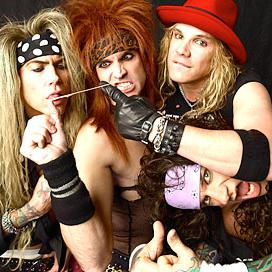 Concierto de Steel Panther en Wichita