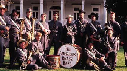 Concierto de The Americus Brass Band en Modesto