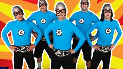 Concierto de The Aquabats en Anaheim