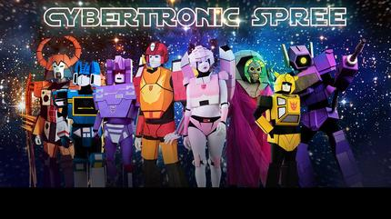 The Cybertronic Spree concert in Pontiac