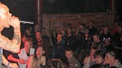 The Exploited concert in Islington, London