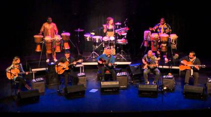 The Five Great Guitars concert in Utrecht