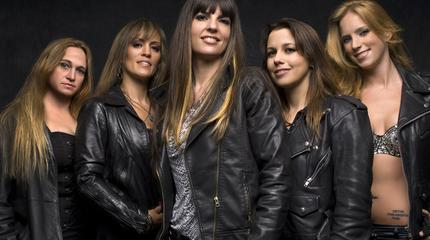 The Iron Maidens concert in Winnipeg