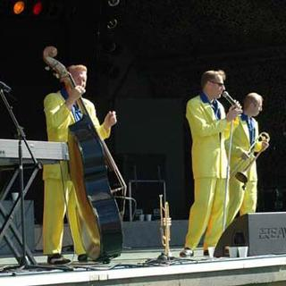 The Jive Aces concert in London