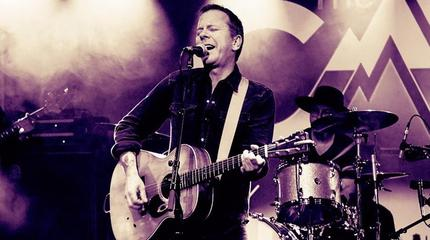 Concierto de The Kiefer Sutherland Band en Dublin