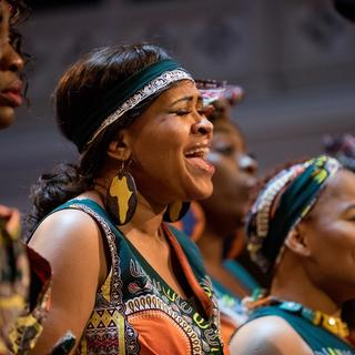 Concierto de The London African Gospel Choir en Belfast