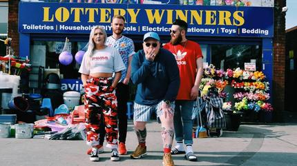 Concierto de The Lottery Winners en Leeds