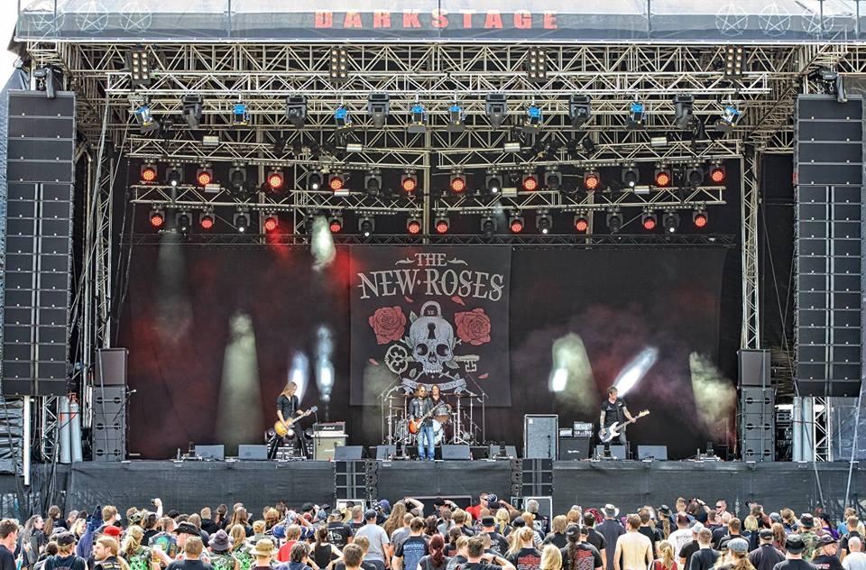 The New Roses concert in Bremen