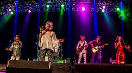 Concierto de The New York Bee Gees en Southampton