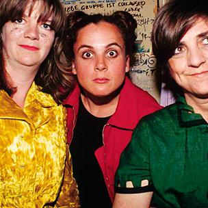 Concierto de The Raincoats en Londres