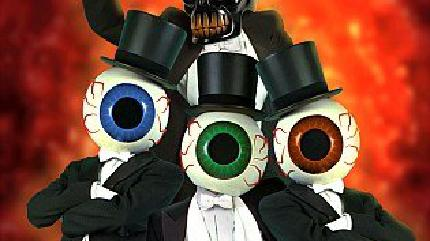 Concierto de The Residents en Carrboro