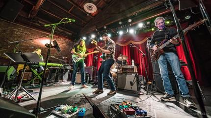 The Terrapin Family Band in concerto a Brooklyn