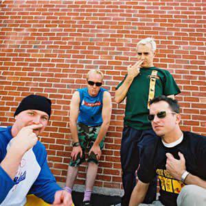 The Aquabats + Vandals concert in Anaheim