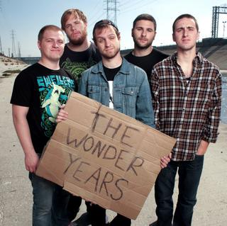 Concierto de The Wonder Years en Filadelfia