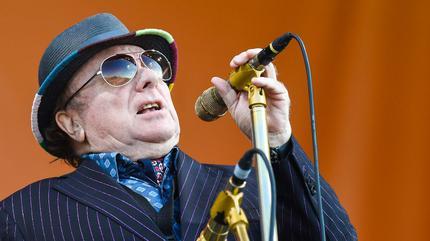 Van Morrison concert in Oxford