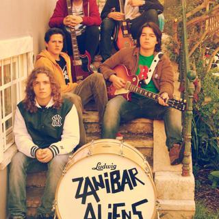 Concierto de Zanibar Aliens en Londres