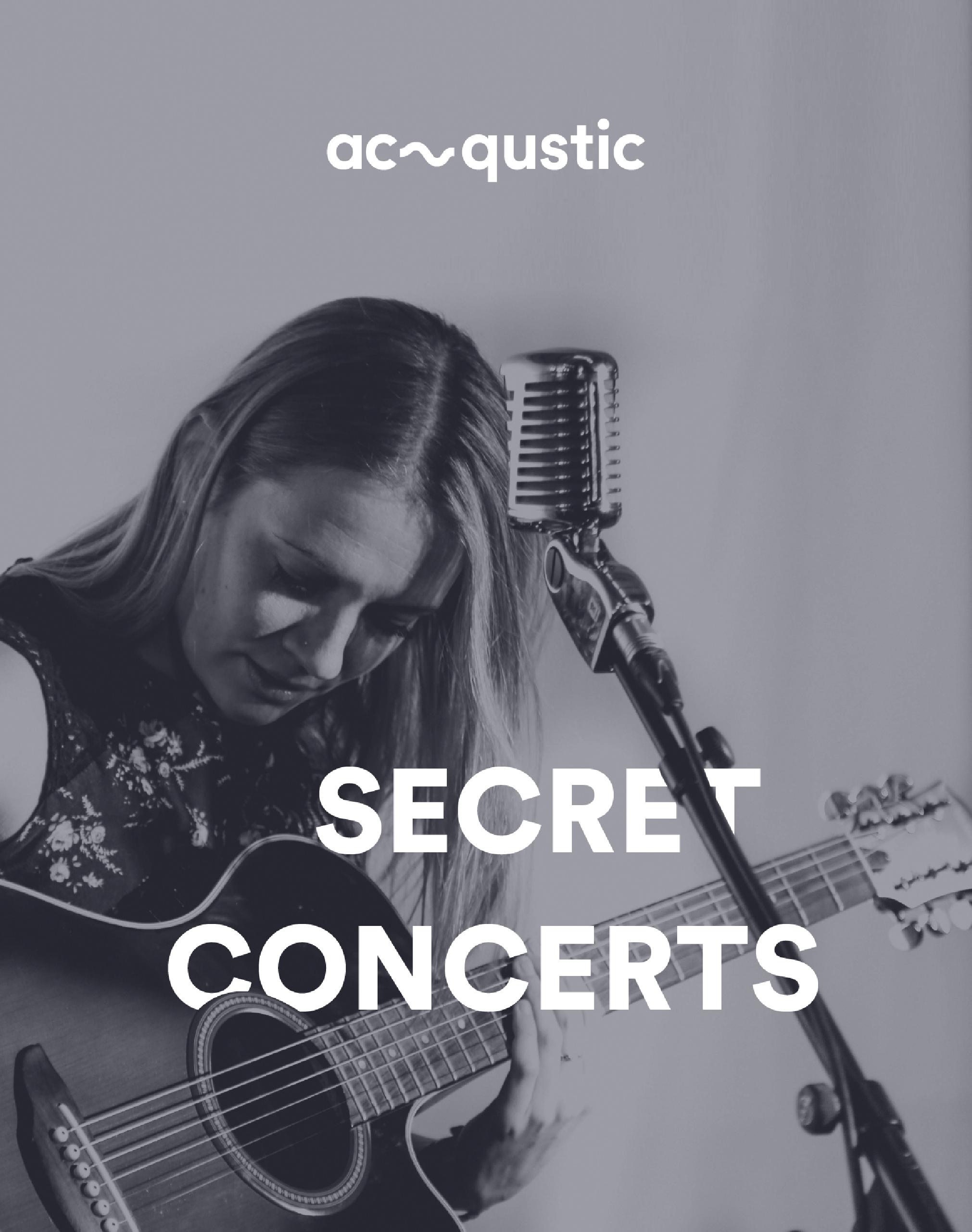 Conciertos secretos by Acqustic