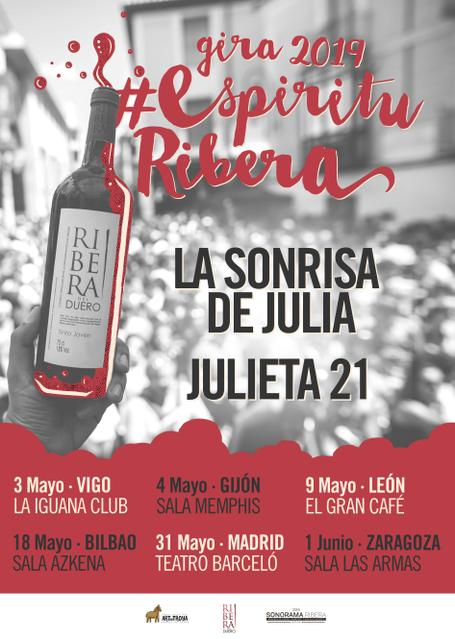 Gira Espíritu Ribera - La Sonrisa de Julia