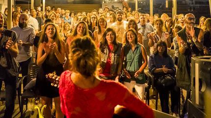 Concierto de Bebe en Live The Roof Barcelona