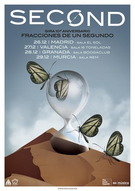 "Second - Gira 10º Aniversario ""Fracciones de un segundo"""