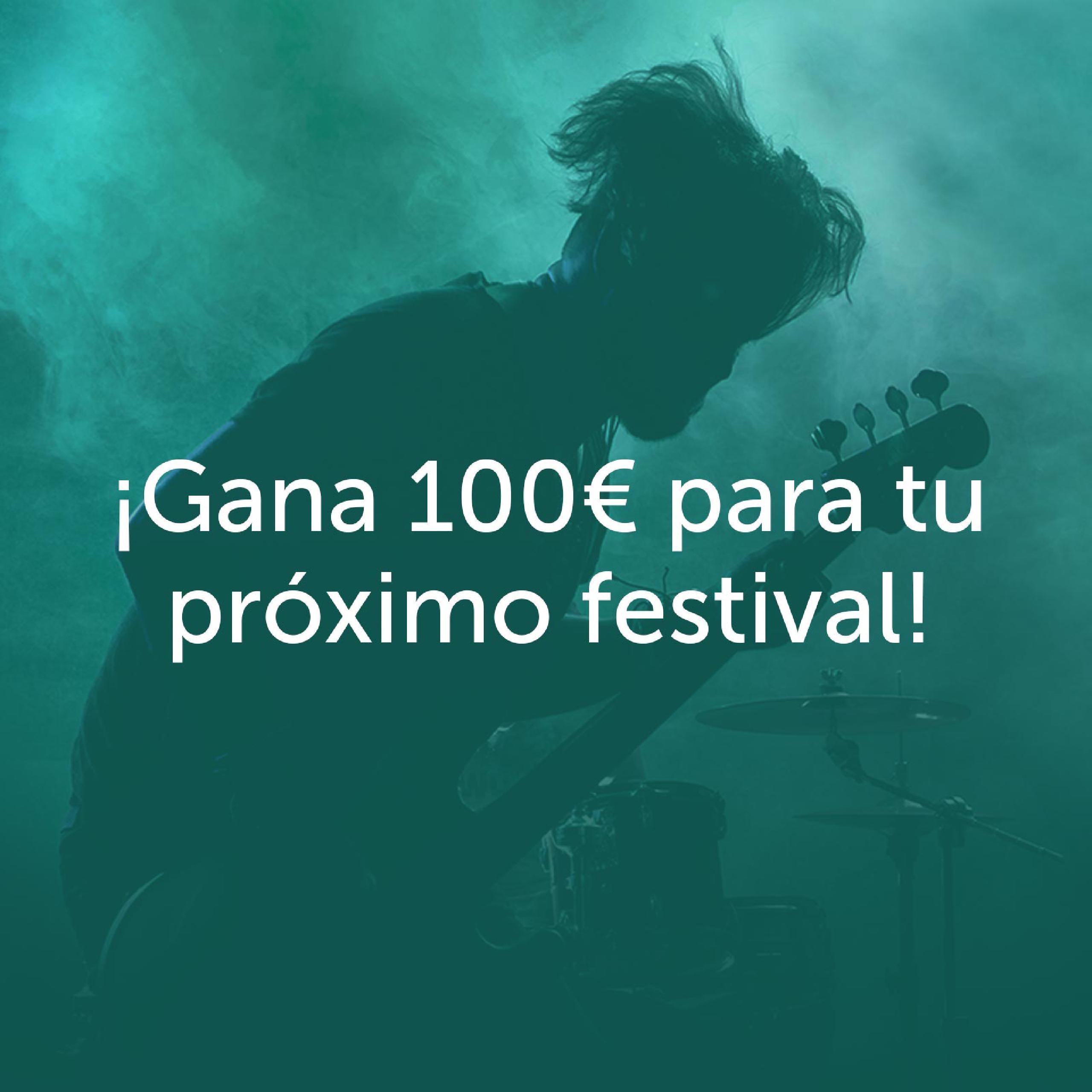 Dinos en qué festival conociste a tu banda favorita y gana 100 euros para tu próximo festival ¡La respuesta más original gana!