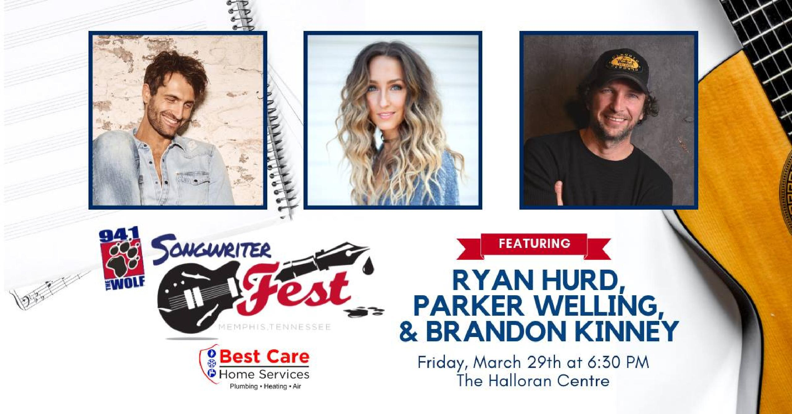 94.1 Songwriter Fest Lineup
