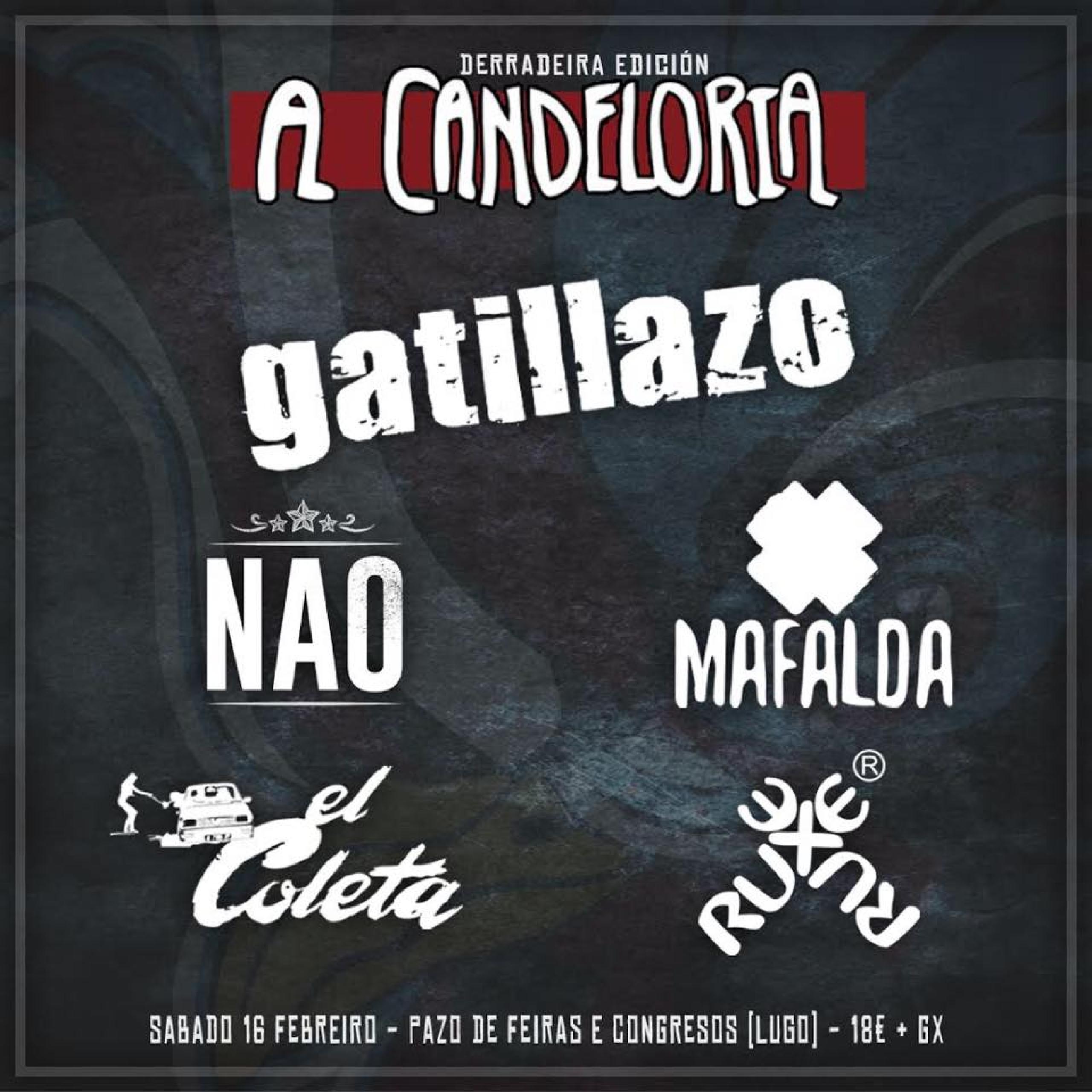 Cartel primeras confirmaciones A Candeloria 2019
