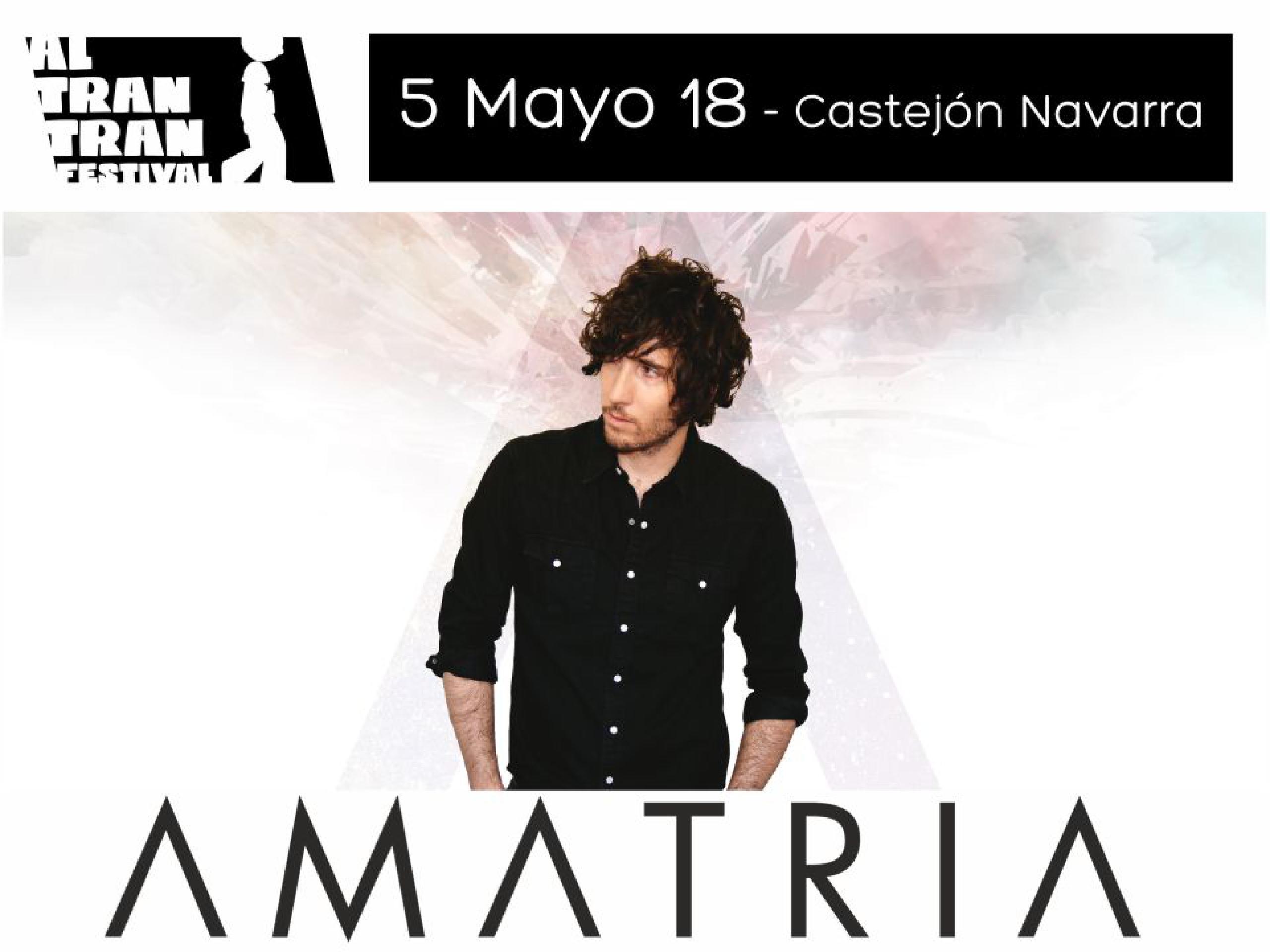 Amatria el 5 de mayo 2018 presentado Algarabia, uno de los disco de este año!