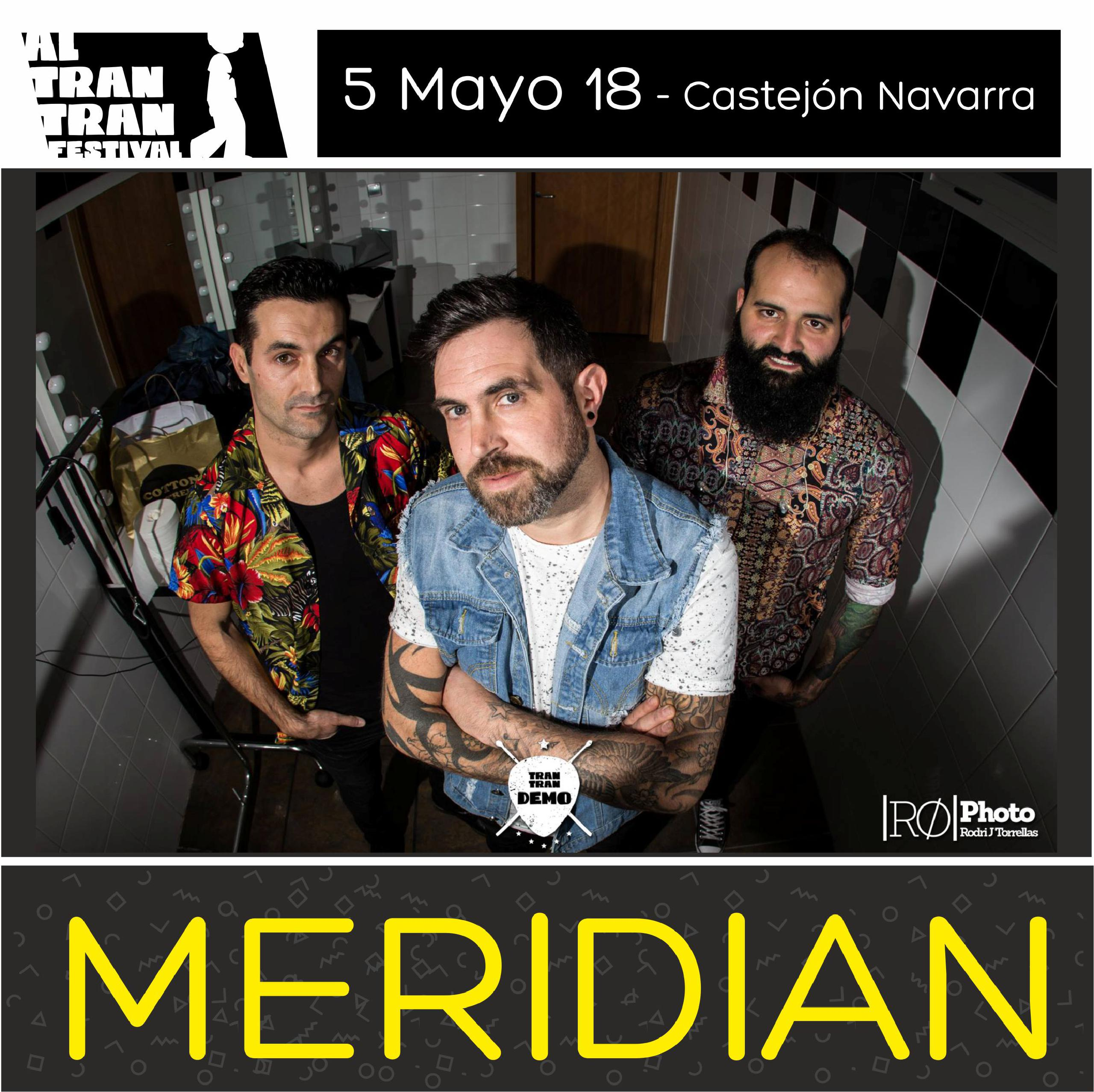 Meridian, en menos de un año de vida, van a tocar en uno de los festivales más mediaticos del país, San san Festival