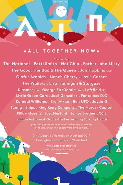 All Together Now Lineup